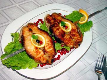 طرز تهیه ماهی اوزون برون سرخ شده
