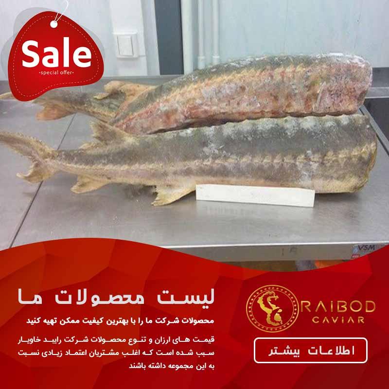 قیمت کنسرو ماهی خاویار
