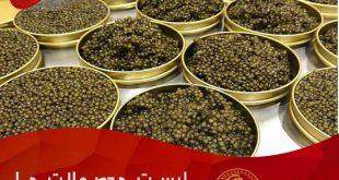 فروش خاویار سوروگا در داخل کشور